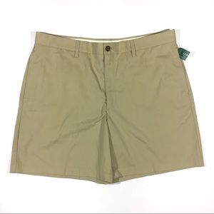 L.L. Bean 38 Khaki Shorts Classic Fit Tan Men's